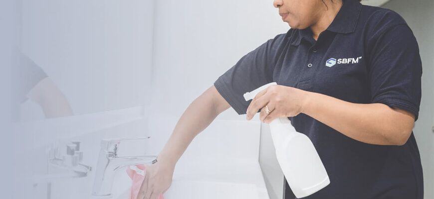 SBFM Cleaning Solutions in the Workplace